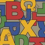 Линолеум Ivc Bubblegum Alphabet 084 (3,0м/30м/2,8мм(0,2мм)/90м2) 084 Alphabet [опт]
